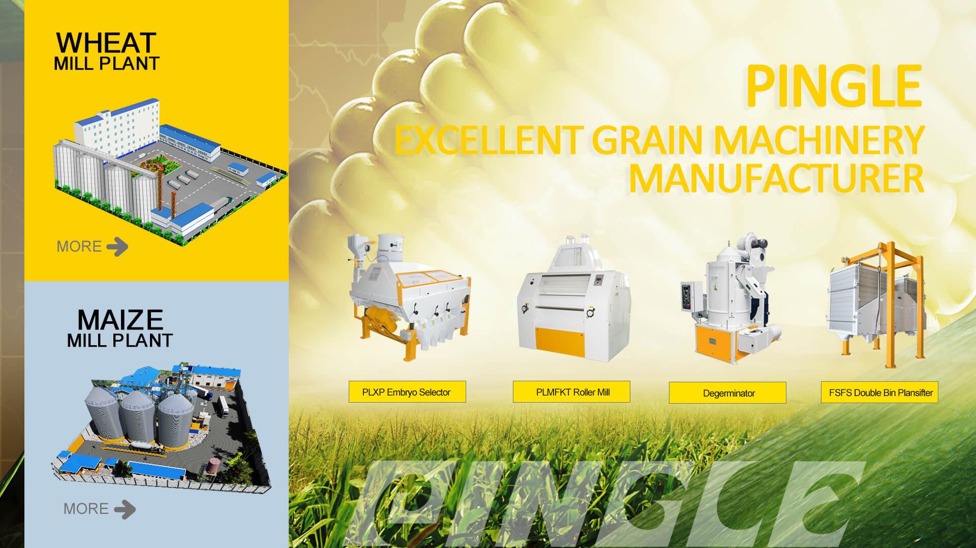 Fraiseuse de farine de blé