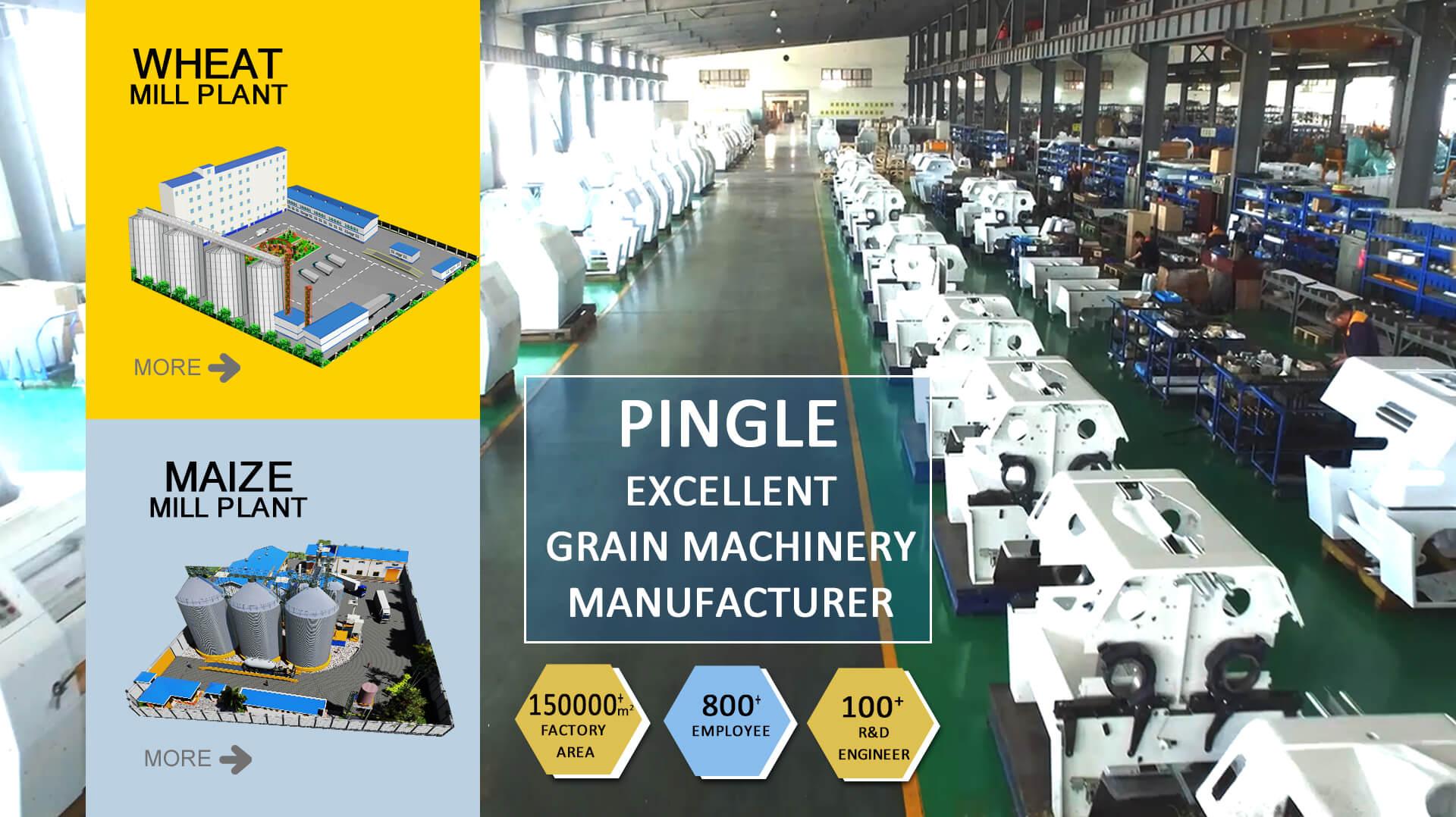 Pingle Excellent fabricant de machines à grains