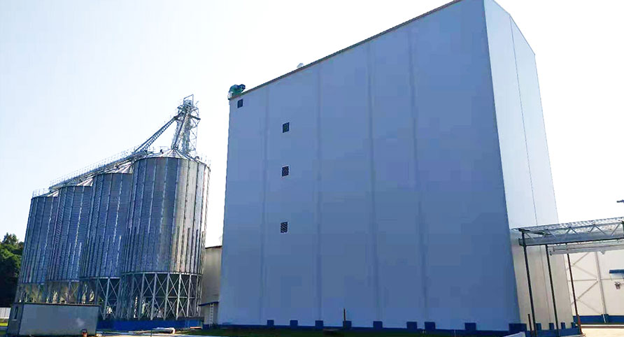 Russia 180TPD Équipements complets de blé Turnkey Project