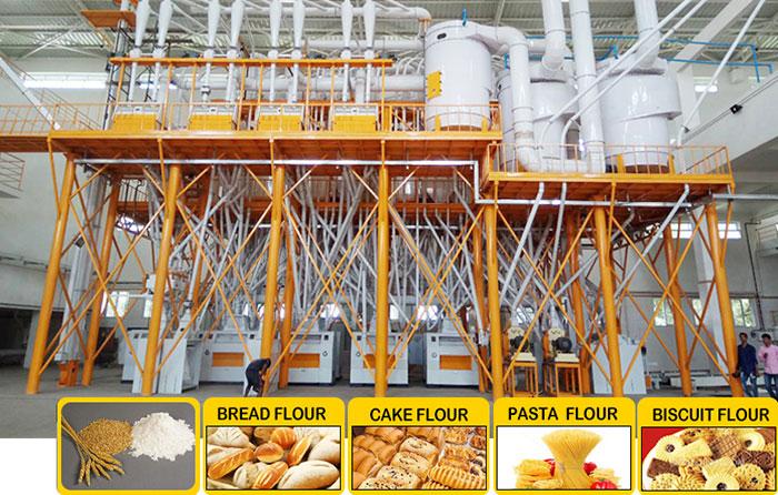 Unité complète en structure de cadre d'acier