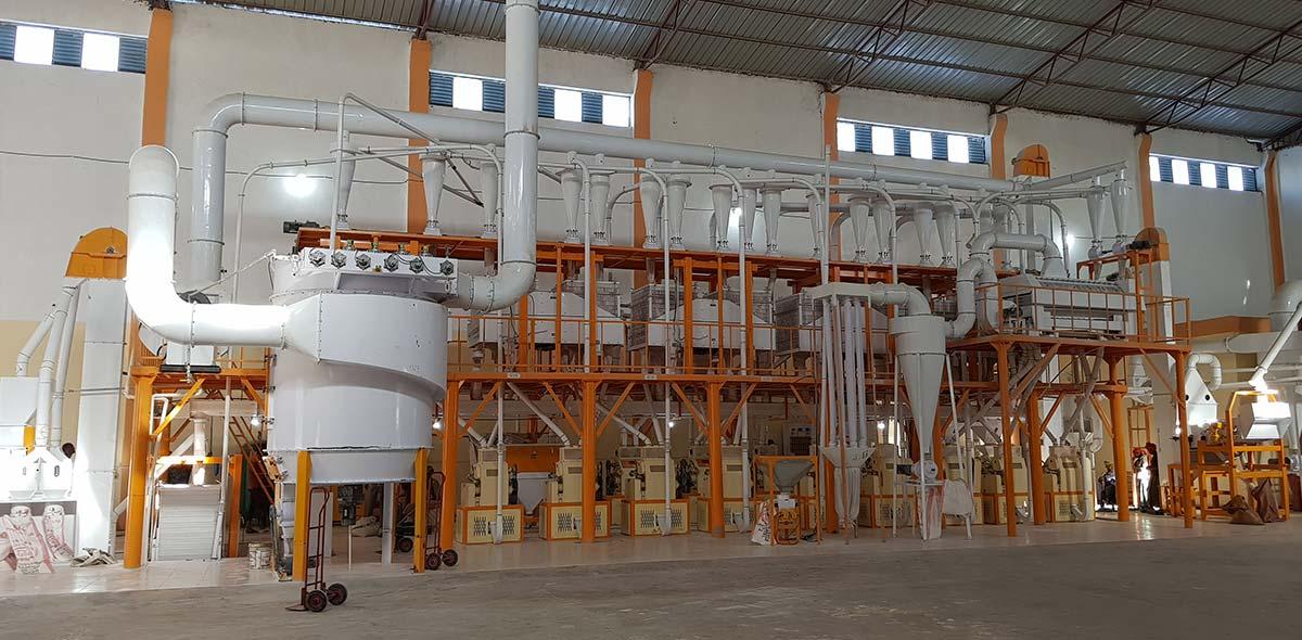Ethiopia 140TPD Équipements complets de blé