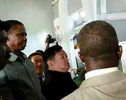 En 2015, ayant conclu avec succès le projet d'ensemble d'équipements de traitement du maïs à énergie solaire en Zambie, et ayant créé un nouveau record parmi les ventes unitaires de la Société