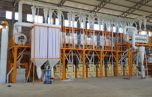 Résumé des projets de machine à farine en cours en Afrique